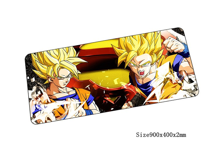 Dragon Ball mouse pad anime pad to mouse notbook computer mousepad locked edge gaming padmouse to 90x40cm keyboard mouse mats