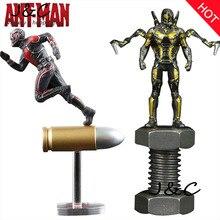 Vente chaude Ant Man Marvel Super Hero Ant-Homme Film Jouets PVC Action Figure Collection Modèle Jouets 6.5 CM Pour Cadeaux Jouet Pour Enfants