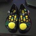 Cctwins crianças primavera verão criança sandálias de praia plana sandálias crianças sandálias bonitos para bebê meninos botas de chuva as crianças frutas shoes