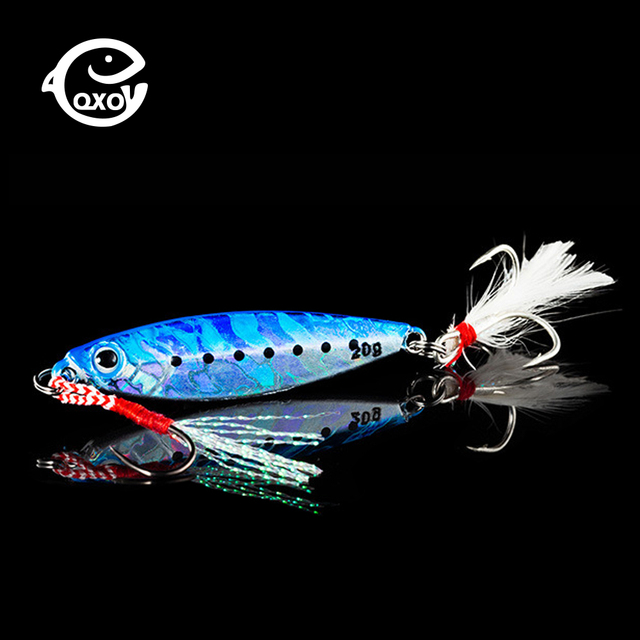 Qxo fishing lure 10 20 30g jig lig