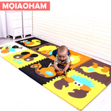 high Quality 4 pcs 60*60CM 2cm thick Baby EVA Floor Mat Children Kids Play Game Pad Baby Crawl Puzzle Mat Eva Foam Carpet Tiles(China)
