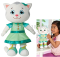 New Daniel Tiger's Neighborhood Talking Katerina Kittycat White Cat Plush Toy Large 12'' 30cm Stuffed Animals Kids Girls Gifts