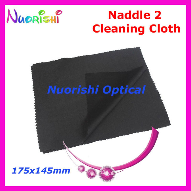 175x145mm 100pcs Black White Grey Microfiber Needle 2 Eyeglass Glasses Cloth Cleaning Cloth Black Free Shipping N21815B