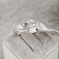 Nueva venta de bienes italina rigant anillos para las mujeres anillo tricíclico heathy # ra10259white