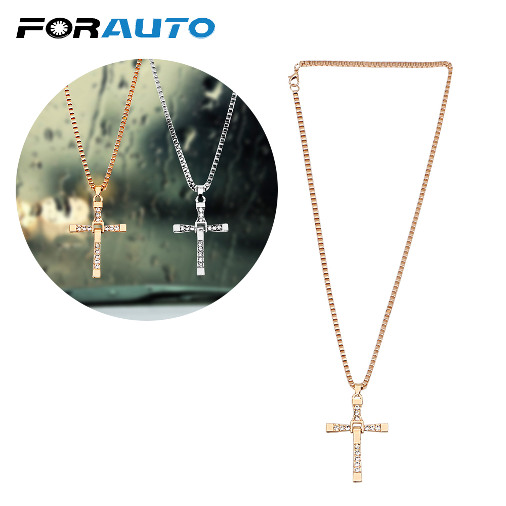 Car Rearview Mirror Hanging Ornaments Car Pendant Christian Cross Car-styling Decoration Auto Interior Accessories High Quality
