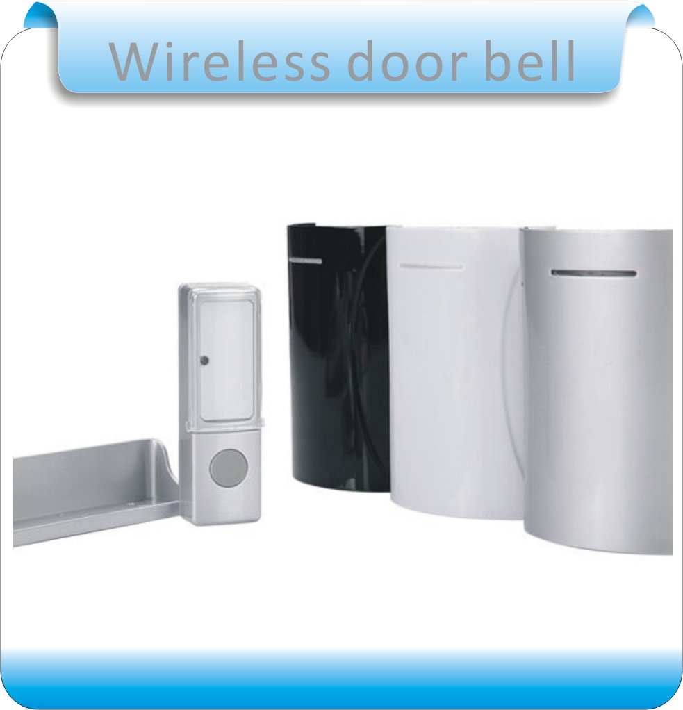 ФОТО Free shipping  32 chord music newest wireless doorbell, waterproof button, three styles shell