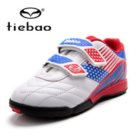 Tiebao Outdoor Grass Soccer Shoes Brand Football Boots Children Kids Football Boots Professional Teenagers Soccer Cleats