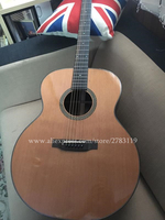 Hand Made 42 Jumbo Acoustic Guitar,Solid Cedar Top/Flame Maple Body, guitars china