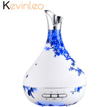 Essential Oil Diffuser 300ml Automatic Auto-Sensor Turn On/Off Ultrasonic Mist Maker Air Humidifier Aromatherapy Aroma with Lamp