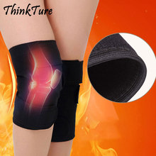 1 Pair Magnetic Therapy Sports Knee Pads Support Large Range Self Heating Brace Belt Protector Kneepad Relieve Pain