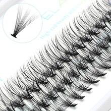 ICYCHEER Pro 8 12 мм 0,07/0,10 C завитые Индивидуальные ресницы для макияжа толстые натуральные индивидуальные Кластерные ресницы для наращивания