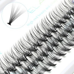 Image 1 - ICYCHEER Pro 8 12mm 0.07/0.10 C Curl Makeup Individual Lashes Thick Natural Individual Cluster Eyelashes Extension