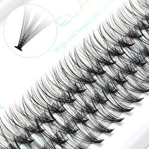 Image 1 - ICYCHEER Pro 8 12mm 0.07/0.10 C Curl Trucco Ciglia Singole di Spessore Naturale Individuale Cluster Ciglia Estensione