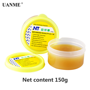 Image 3 - UANME NT ZJ 18 50g 80g 150g Yellow paste Advance Quality Solder Flux Soldering Paste High Intensity Free Rosin