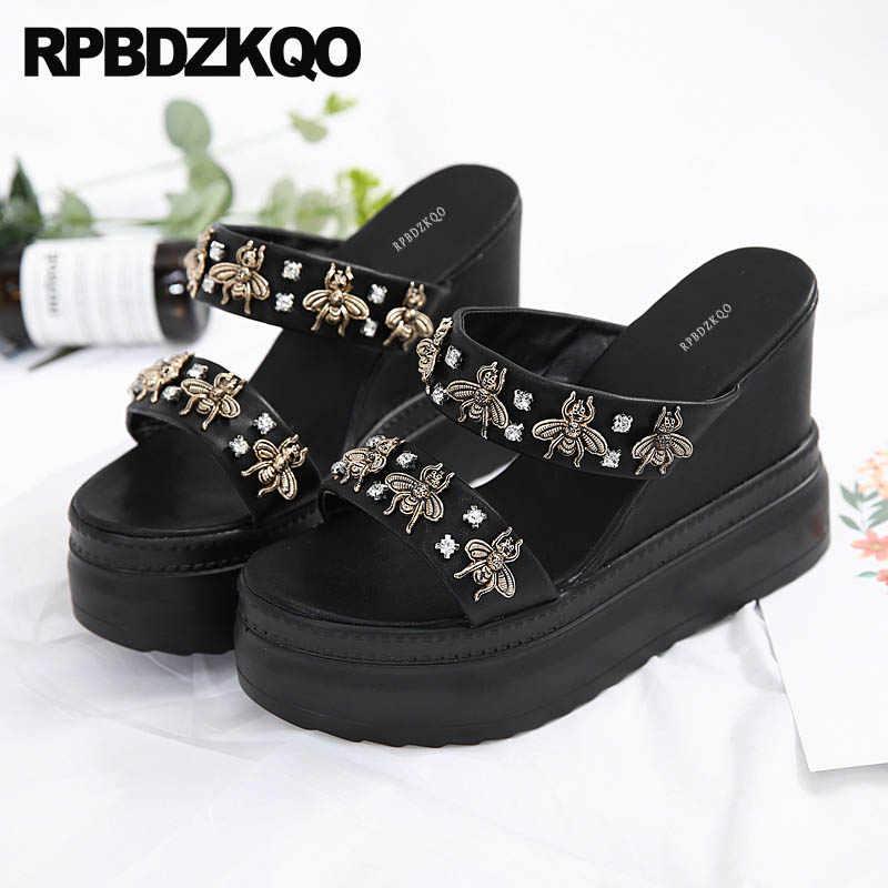 71ceb6b681 Detail Feedback Questions about Rhinestone Shoes Slides Jewel ...