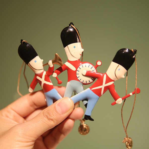 Nordic Natal 3D Seni Kerajinan Menggantung Dekorasi Dove Bintang Inggris Anak-anak Lucu Malaikat Salju Pohon Natal Menggantung Elf Cam Phone rak