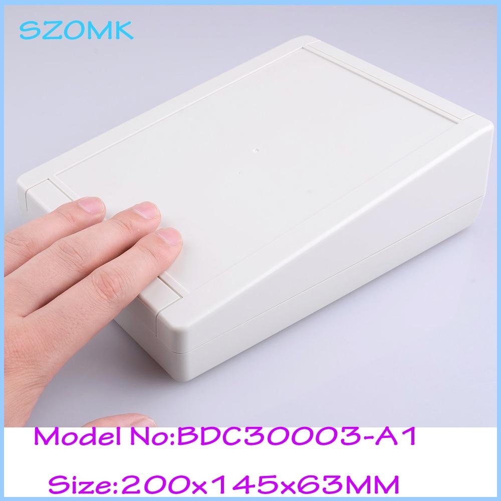 4pcs/lot distribution box plastic enclosures electronic case plastic housing plastic box enclosure electronics 200x145x63 mm