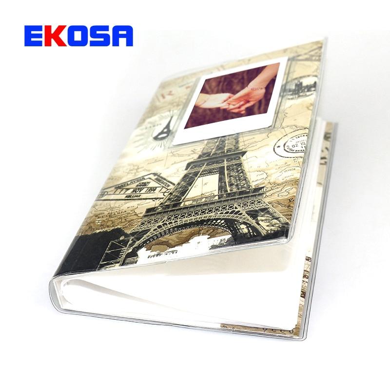 Galleria fotografica 84 Pockets 3 Inches Photo for Fujifilm Instax Mini 9 7s 8 90 25 50s Film Camera Paris Tower Protect Case Favorites Book album