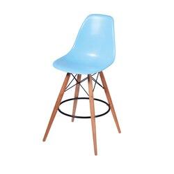 Chaise de BAR tabouret de BAR en plastique chaise en bois en plastique côté tabouret minimaliste moderne dinant la chaise