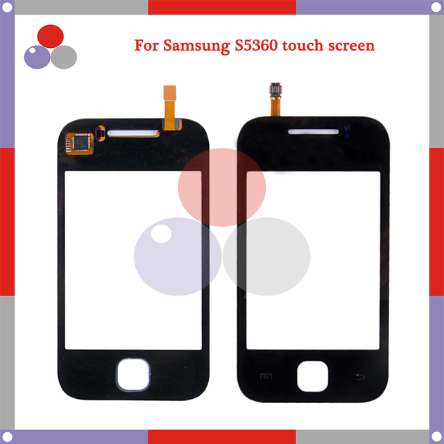 High Quality For Samsung Galaxy Y GT-S5360 S5360 Touch Screen Panel Sensor Digitizer Outer Glass Lens