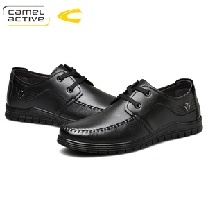 Image 5 - Camel Active 2019 PRIMAVERA/otoño nueva marca de lujo de cuero genuino de los hombres zapatos casuales de cuero de vaca de los hombres de banquete partido Formal mocasines