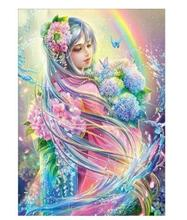 5D Diy Diamond Painting Full Square Holy Spirit Elf Girl Decoration Home Decoration Diamond Mosaic Custom Picture Drop Shipping 5d diy diamond painting full square holy spirit elf girl decoration home decoration diamond mosaic custom photo drop shipping