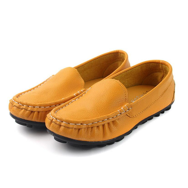 Genuine Leather Bebe Shoes 2018 Autumn Kids Casual Sneakers Children Shoes for Boys Girls Sneakers Baby Moccasins Kids Trainers