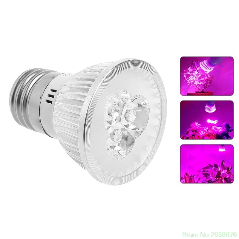 Lights & Lighting Professional Lighting 85-265v 3w E27 Led Plant Grow Light Full Spectrum Indoor E27 5-led Plant Crowth Lamp Limpid In Sight