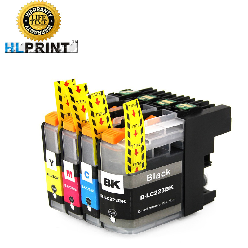 LC223 ink cartridge compatible for Brother MFC J4420 J4620 J4625 J5320 5620 J5625 J5720 J480 J680 J880 DW DCP J4120 J562 printer 6pk 33xl compatible ink cartridge for xp530 xp630 xp830 xp635 xp540 xp640 xp645 xp900 t3351 t3361 t3364 for europe printer