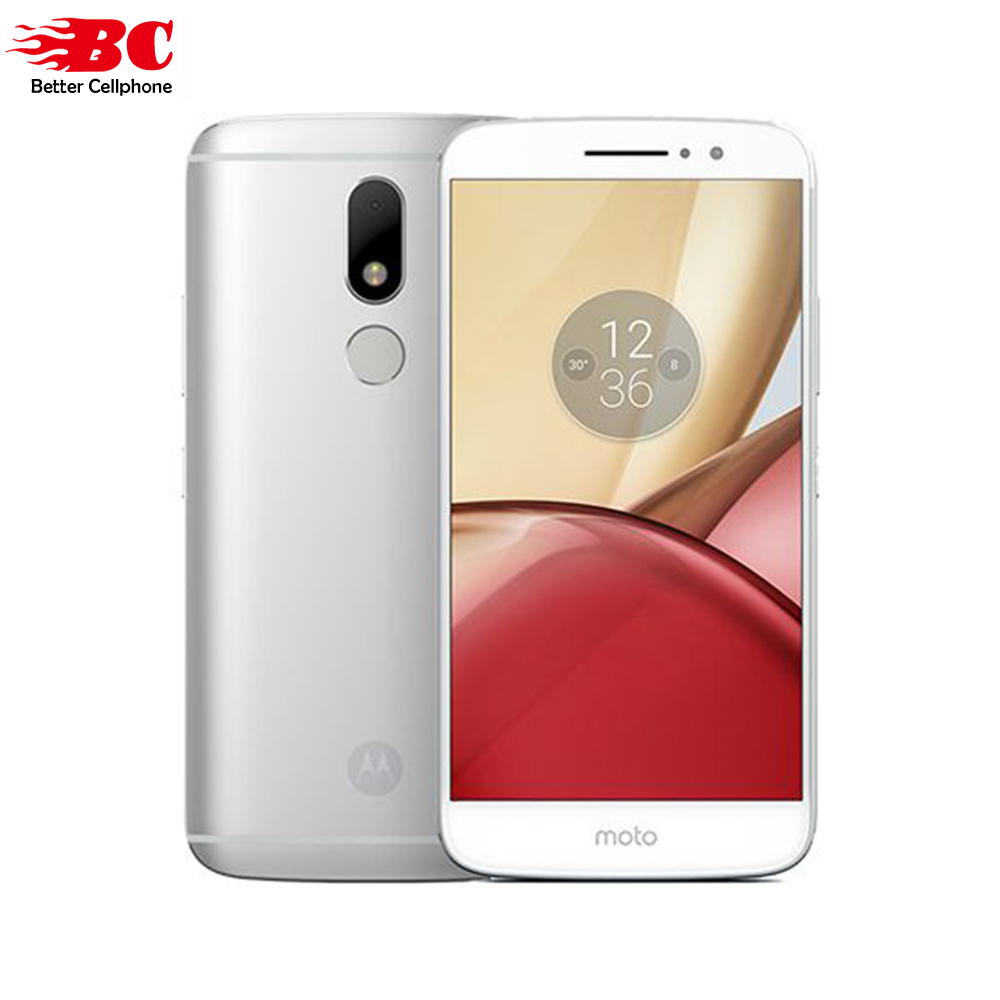 bilder für Neue Original Motorola MOTO M XT1662 Telefon 4G RAM 32G ROM 1920*1080 P IPS Android 6.0 Octa-core 2,2 GHz Fingerabdruck 4G LTE 3050 MAh