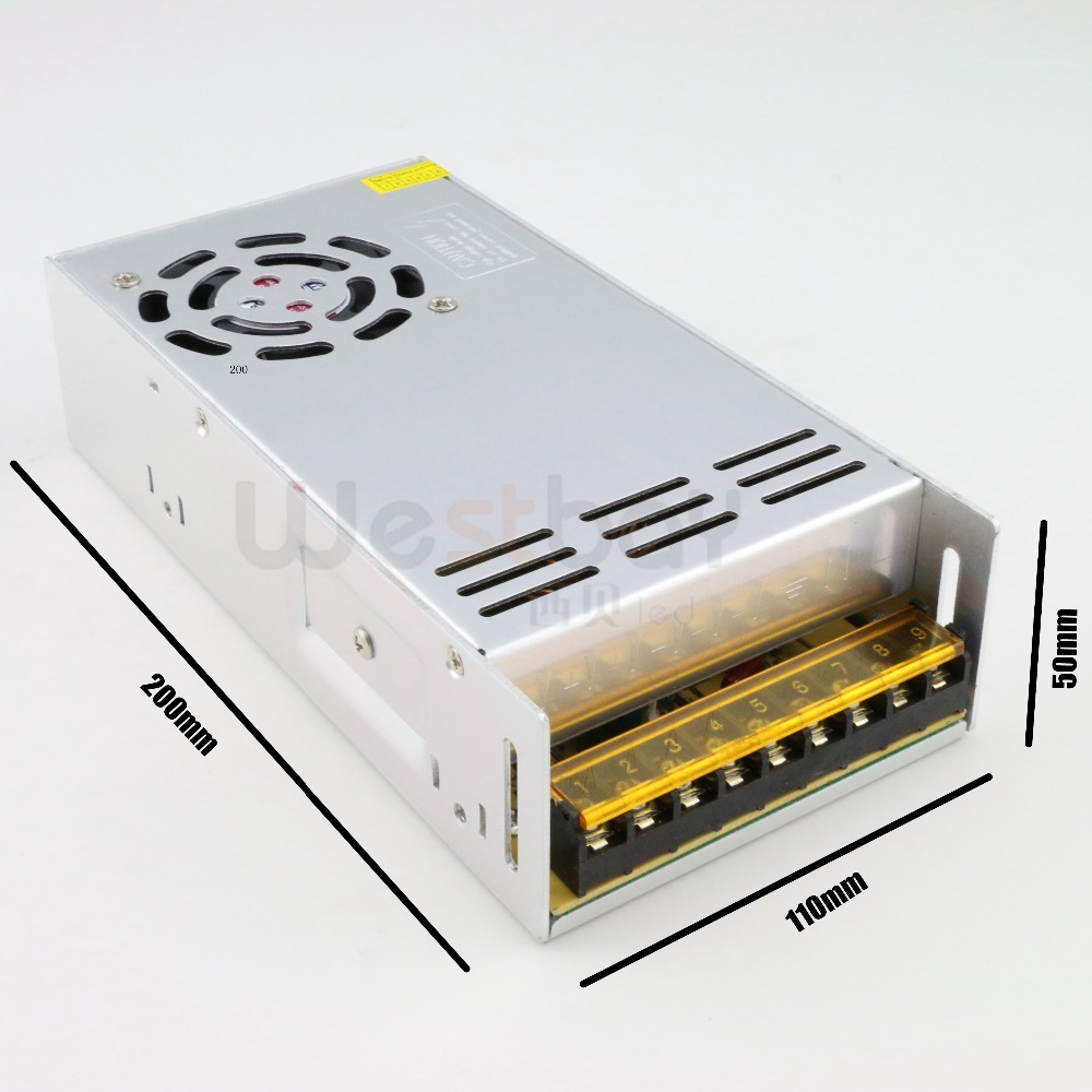 ФОТО Best quality 12V 29.2A 350W Switching Power Supply Driver for LED Strip AC 170-260V or 90-110V Input to DC 12V free shipping