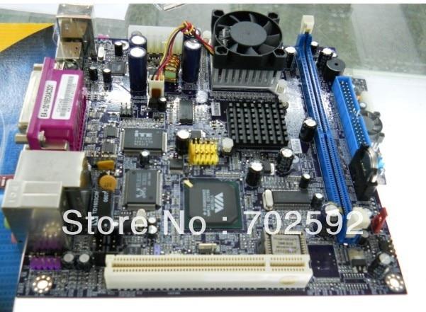 ORIGINAL MINITX Mainboard C3VCM2 for pos machine