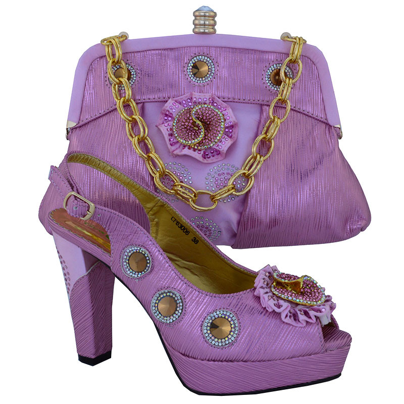 ФОТО Italian Shoes With Matching Bags African Shoes And Bags To Match High Quality Ladies Matching Shoe And Bag Italy CP63006