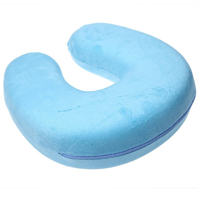 neck pillow massager u shaped slow rebound memory foam travel neck pillow for office flight traveling - Memory Foam Neck Pillow