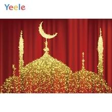 Yeele Eid Mubarak Carnival Religion Gold Wallpaper Photography Backdrops Personalized Photographic Backgrounds For Photo Studio