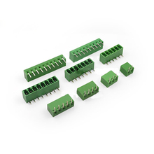 10pcs  Connector Plug-in Terminal Blocks Curved Ne