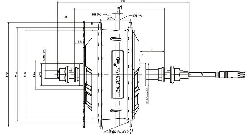 Vendo motor buje MXUS trasero nuevo HTB1hkrMSFXXXXbyXXXXq6xXFXXXA