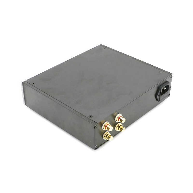 Все алюминиевый сплав QF2205 Передняя сценическая шасси все алюминиевые усилитель мощности шасси/корпус усилителя