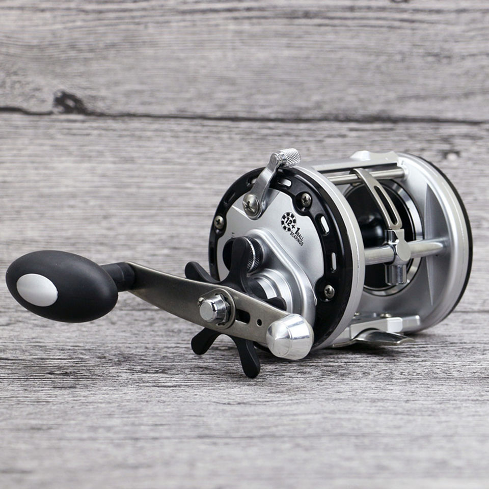 Drum Saltwater Fishing Reel Baitcasting 12+1BB Sea Fishing Reels Bait Casting Right Hand Surfcasting Reel