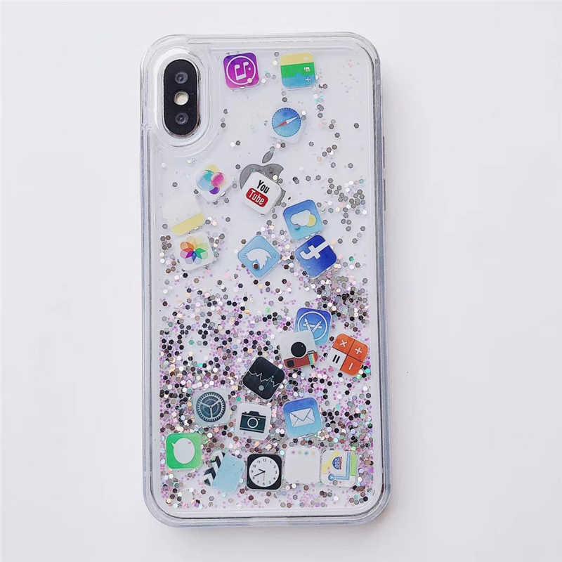 iPhone 6 / 6S Case Glitter Cover