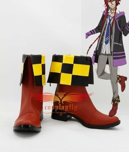 Anime Kamigami No Asobi Loki Laevatein Cosplay Shoes Boots Custom Made  Adult Halloween Carnival Christmas For