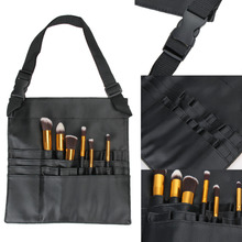 18 Pockets Professional Cosmetic Makeup Artist Brush Apron Belt Strap Bag Case Practcial Makeup Tool Bag Storage FE#8