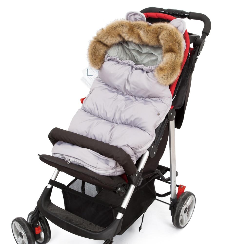 Baby Sleeping Bag For Stroller Baby Carriage Sack Pram Footmuff Warm Winter Changing Diaper Envelope For Newborn Baby Cocoon-in Sleepsacks from Mother & Kids    1