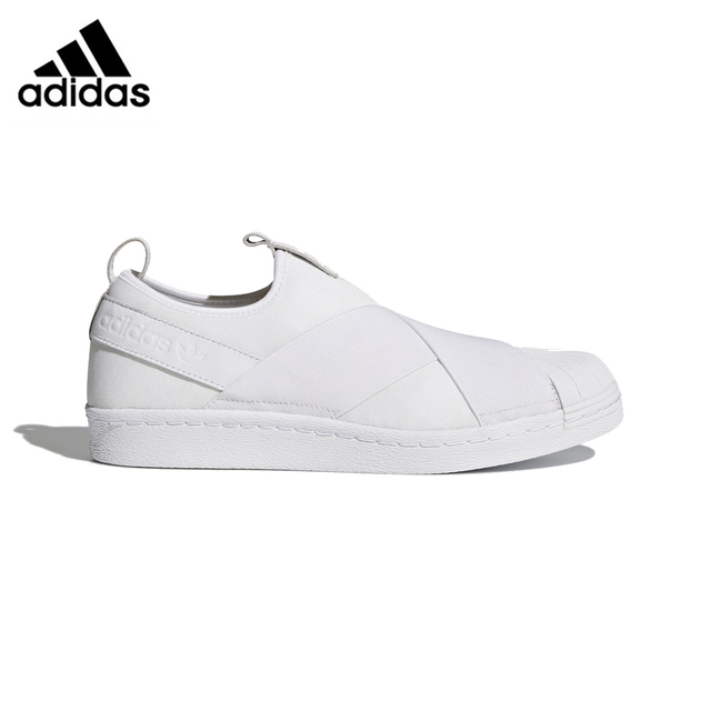 8548a79498be1 US $234.83 |Original Authentic Adidas Originals SUPERSTAR SlipOn Unisex  Skateboarding Shoes Sneakers Anti Slippery Hard Wearing Low Top Flat-in ...