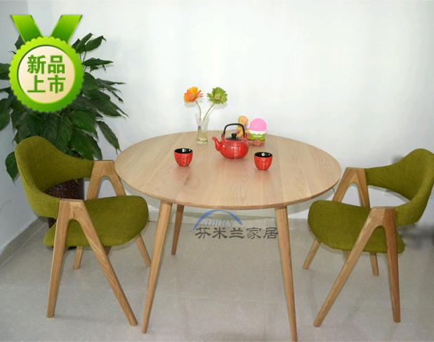Four Bits Of Wood Dining Tables Imported Japanese White Oak Round Table IKEA Small