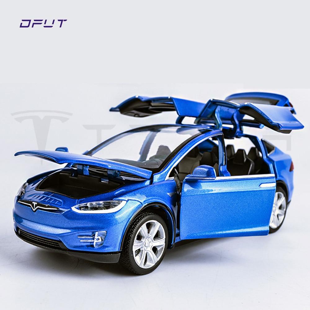 Tesla Car Dream Cars New: New 1:32 Tesla MODEL X Alloy Car Model Diecasts & Toy