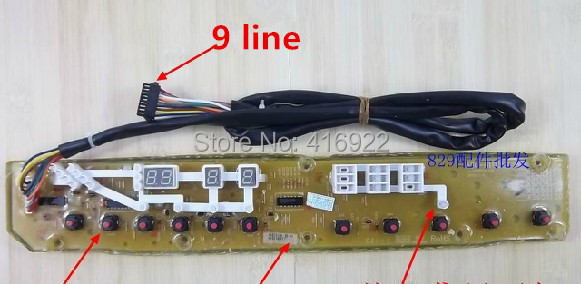 compare prices on sanyo washing machine parts online shopping buy shipping 100% tested for sanyo computer board xqb70 s718 washing machine circuit board