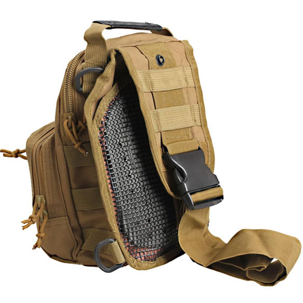 2017 Hot Sale Crossbody Shoulder Bag Oxford cloth Military Haversack Casual High Quality Bag for Men LXX9 5