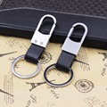 100pcs Metal Leather Car Key Chain  High-end Gifts for BMW Audi Mercedes Honda Volkswagen Toyota Ford Nissan Car Logo Keychain