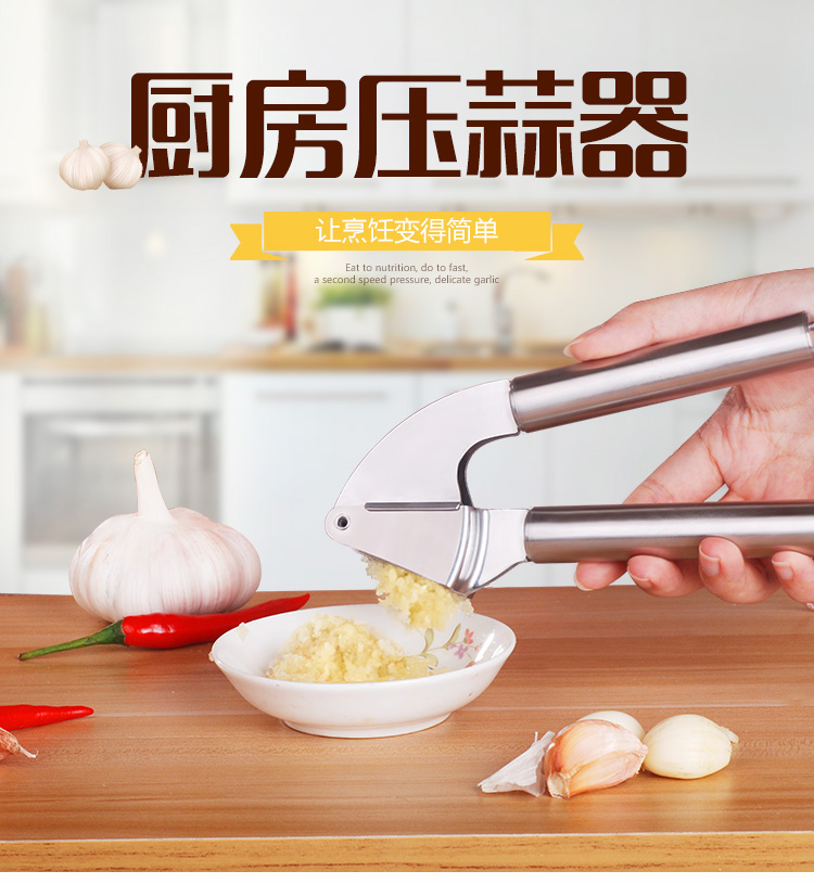 Stainless steel garlic press Tools Household garlic pressing device Manual garlic machine Garlic masher бусики колечки серьги сердолик венера арт с3296